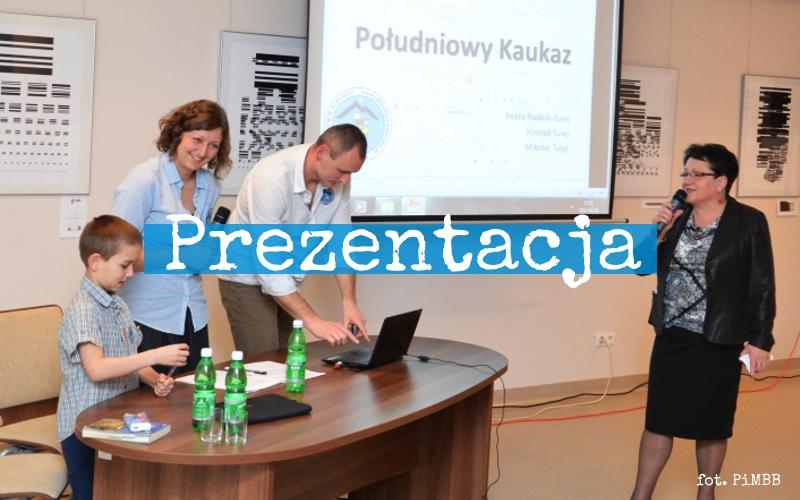 Prezentacja w Brzesku