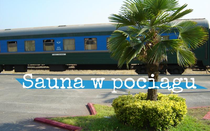 Sauna w pociągu