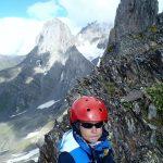 Chaukhi - gruzińskie Dolomity - Piąty Kierunek08